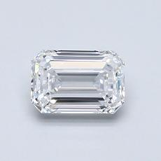 Recommended Stone #1: 0.76-Carat Emerald Cut Diamond