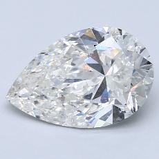 Recommended Stone #2: 2.60-Carat Pear Cut Diamond