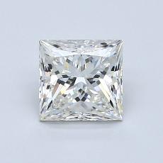 推薦鑽石 #2: 1.07  克拉公主方形鑽石