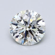 1.00 Carat 圓形 Diamond 非常好 K VVS1