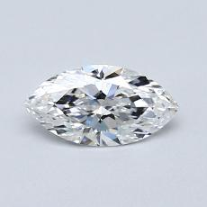 Recommended Stone #4: 0.50-Carat Marquise Cut Diamond