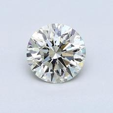 0.70-Carat Round Diamond Ideal K SI2