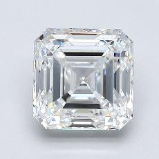 1.70-Carat Asscher Diamond Very Good E VS1