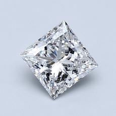 推薦鑽石 #4: 0.81  克拉公主方形鑽石