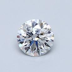 0.63-Carat Round Diamond Ideal E VS1