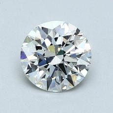 1.01-Carat Round Diamond Ideal G IF