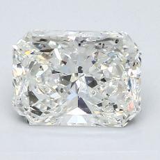 2.02 Carat ラディアント Diamond ベリーグッド I SI1
