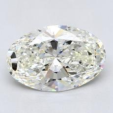 Recommended Stone #3: 2.60-Carat Oval Cut Diamond
