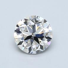 1.01 Carat 圓形 Diamond 良好 I SI1