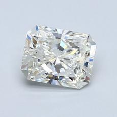 1.01-Carat Radiant Diamond Very Good I VS2