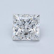 Recommended Stone #3: 1.02-Carat Princess Cut Diamond