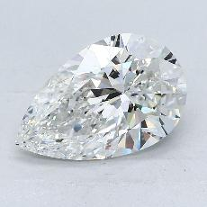 Recommended Stone #1: 2.02-Carat Pear Cut Diamond