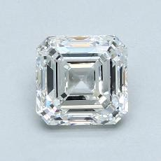 1,20-Carat Asscher Diamond Very Good F VS1