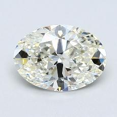 1.02-Carat Oval Diamond Very Good K VVS1