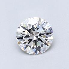 0.71-Carat Round Diamond Ideal F VS2