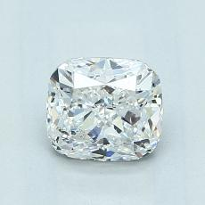 1.01-Carat Cushion Diamond Very Good E SI1