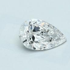 推薦鑽石 #3: 1.30 克拉梨形鑽石