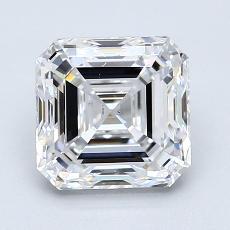 Recommended Stone #2: 1.81-Carat Asscher Cut Diamond