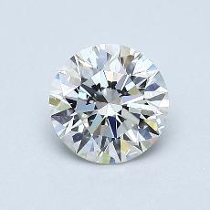 0.70 Carat 圓形 Diamond 理想 F VS1