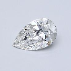 Recommended Stone #1: 0,53-Carat Pear Cut Diamond