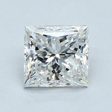 2.04-Carat Princess Diamond Very Good E VS1
