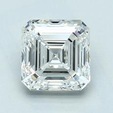 2,01-Carat Asscher Diamond Very Good G VS1