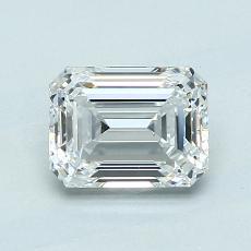 Recommended Stone #1: 1.11-Carat Emerald Cut Diamond