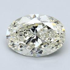 1.70-Carat Oval Diamond Very Good K SI1