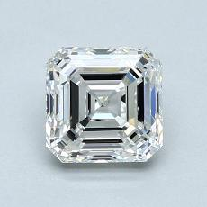 1.21-Carat Asscher Diamond Very Good G VVS2