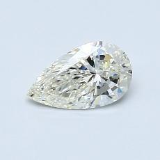 Piedra recomendada 3: Diamante en forma de pera de0.50 quilates