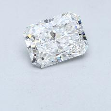 Recommended Stone #4: 2,60-Carat Radiant Cut Diamond