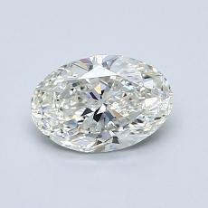 Recommended Stone #1: 0.80-Carat Oval Cut Diamond