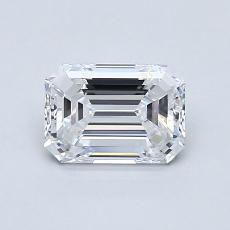 Recommended Stone #3: 0,90-Carat Emerald Cut Diamond