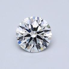 Recommended Stone #1: 0.63-Carat Round Cut Diamond