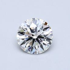 Recommended Stone #1: 0.69-Carat Round Cut Diamond