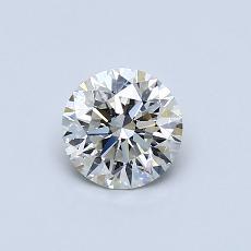 0.61 Carat 圆形 Diamond 理想 I VS2