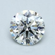 1,03-Carat Round Diamond Ideal H VS1