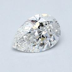 Recommended Stone #1: 0.85-Carat Pear Cut Diamond