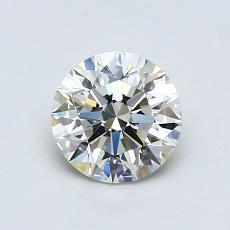 0.90 Carat 圆形 Diamond 理想 K VS1