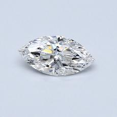 Recommended Stone #4: 0.35-Carat Marquise Cut Diamond