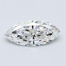 オススメの石No.3:0.61カラットのマーキスカットダイヤモンド