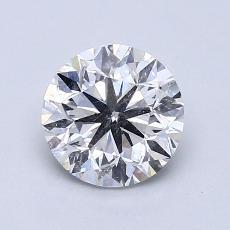 推荐宝石 2:1.25 克拉圆形切割