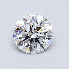0.90 Carat 圓形 Diamond 理想 F VS1