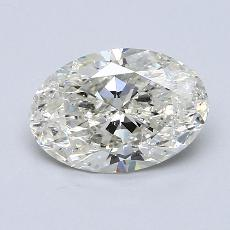 1.71-Carat Oval Diamond Very Good J SI2