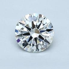 0.78 Carat 圆形 Diamond 理想 H VVS2