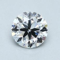 1.00-Carat Round Diamond Very Good D VS1