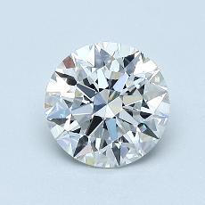 1.03 Carat Redondo Diamond Ideal E VS1