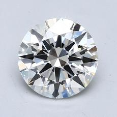 1,00 Carat Rond Diamond Idéale F VS1