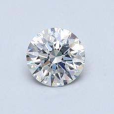 0.70 Carat 圓形 Diamond 理想 G SI1