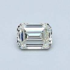 Recommended Stone #1: 0.53-Carat Emerald Cut Diamond